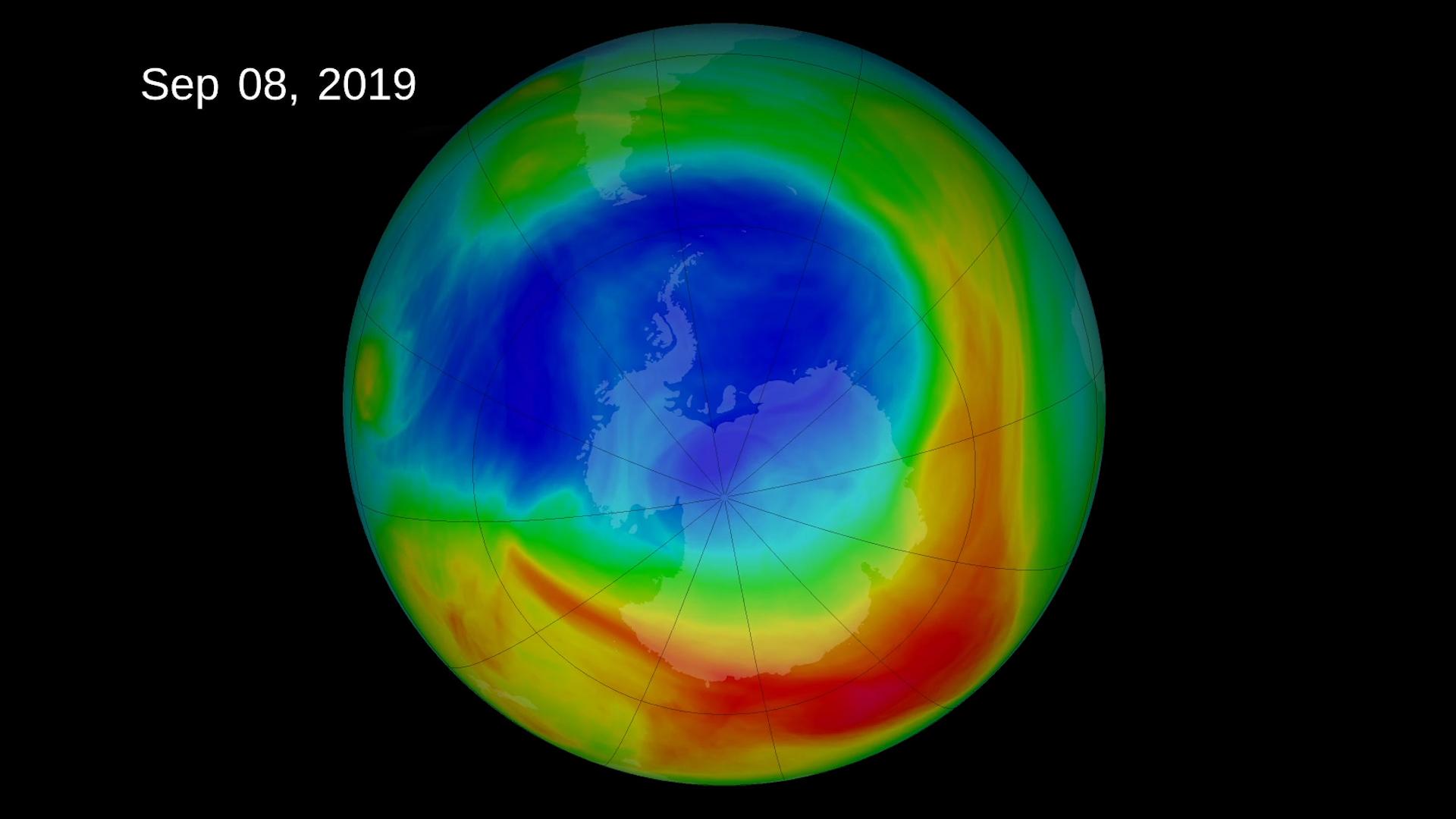 O Buraco de Ozono Nunca Esteve Tão Pequeno desde 1982
