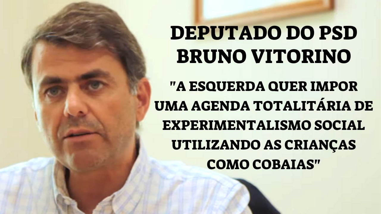 """ENTREVISTA: Deputado do PSD Bruno Vitorino """"A Esquerda Quer Impor Uma Agenda Totalitária"""""""