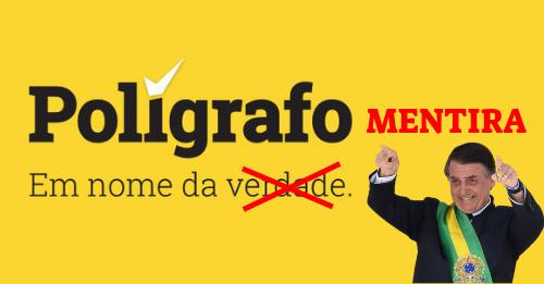 Verdade VS Polígrafo: Jornal Polígrafo e SIC Difundem Mentiras Sobre Bolsonaro