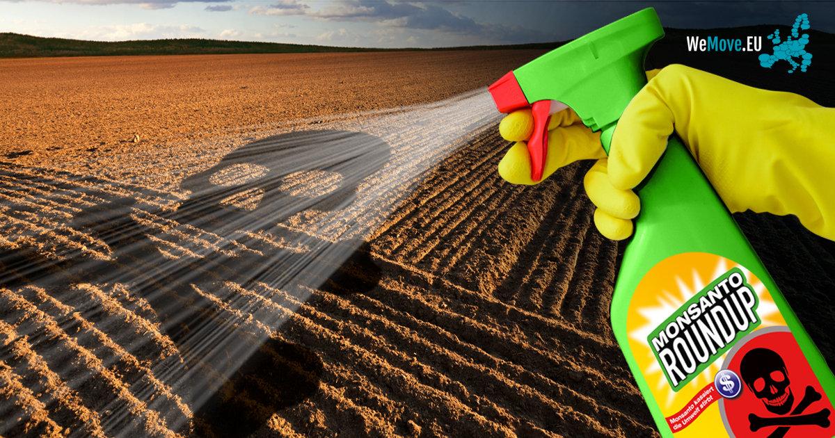 Glifosato em Plantações no Algarve é 50X Maior que os Níveis Recomendados pela UE