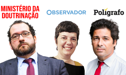 "As ""Fake News"" do Sec. de Estado (Ditador), do Observador (Cego) e do Polígrafo (Mentiroso)"